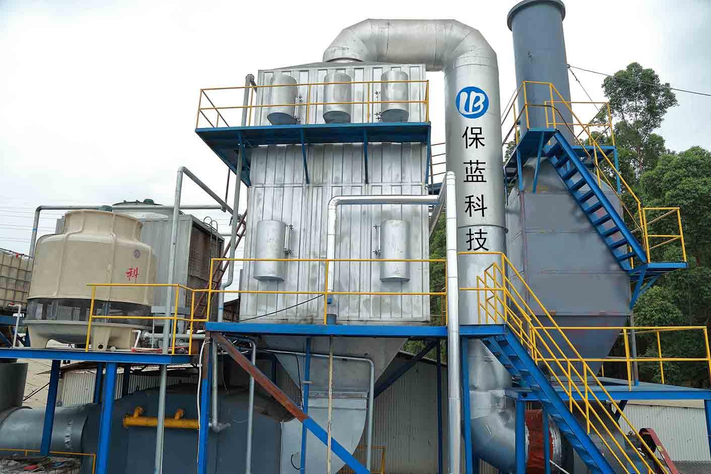 永俊定型机废气处理设备厂应用案例