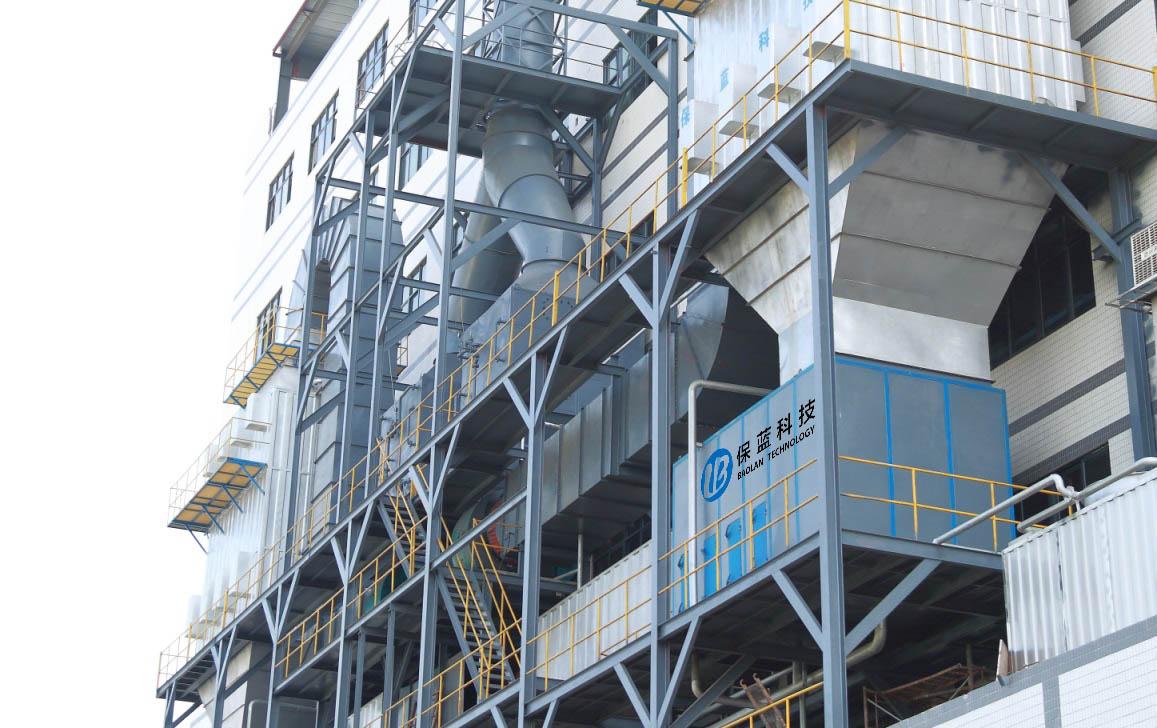 佛山市三水区冠伟润纺织有限公司废气处理设备应用案例