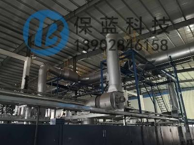 定型机废气处理装置节能减排收益分析