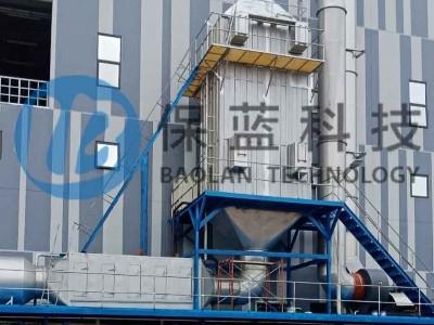 保蓝科技员工赴越南安装定型机废气处理设备