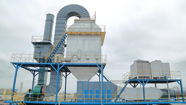 佛山市三水区祥盛纺织有限公司废气处理设备应用案例