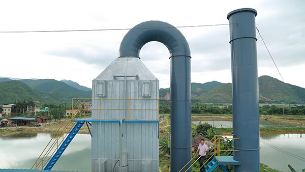 保蓝机械浅析废气处理设备堵塞的原因