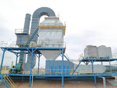 定型机废气处理的方法